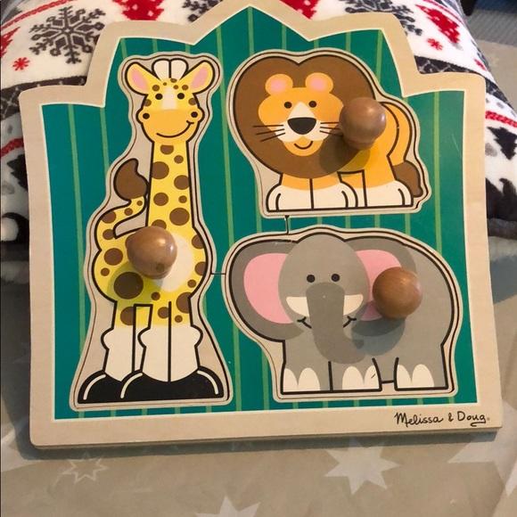 Melissa Doug Jungle Friends Puzzle